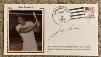 JOSE CANSECO Signed Auto MLB Debut Baseball Cachet Envelope 1986 Oakland A's