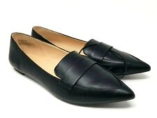 Ana Shoes Womens Flats Slip Classic Sizes 9 Black Lightweight Career Casual New