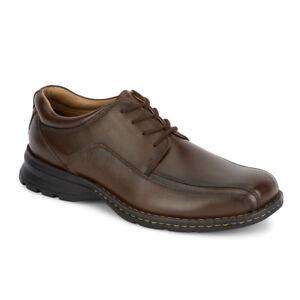 Dockers Trustee 90-29023 Men's Dark Tan Leather Dress Shoe
