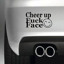 Cheer up BUMPER STICKER FUNNY CAR WINDOW  STICKER VINYL DECAL