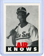 RARE Michael Jordan Baseball White Sox Rookie Card AIR KNOWS Air Jordan 23 Promo