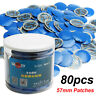 80pcs 57mm Car Vehicle Rubber Wired Tyre Puncture Repair Mushroom Plug Patch KIT