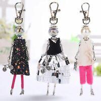Women Bag Keychain Doll Cute Hot Handmade Car Pendant Key Ring Fashion Jewellery