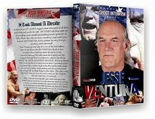 Jesse Ventura Shoot Interview DVD Wrestling WWE WWF WCW AWA Minnesota The Body