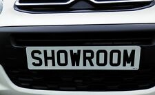 SHOWROOM SHOW DISPLAY NUMBER PLATE SUCTION CUPS LOW PROFILE NO GLUE NO TAPES