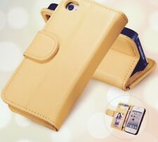 For Apple iPhone 5 5S SE 5G  Wallet Leather Case Flip Stand New Phone Cover Gold