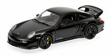 MINICHAMPS 2011 Porsche 911 GT2 RS Black w/Black Wheels 1:18 *New Stock!