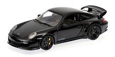 MINICHAMPS 2011 Porsche 911 GT2 RS Black w/Black Wheels 1:18 *New Stock!