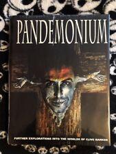 Clive Barker Pandemonium Hardcover Eclipse Books *Factory Sealed*