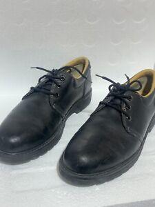 Havana Joe Black Leather Men's Shoes EU 46 US 13 Panama Jack Waterproof