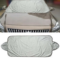 Silver Folding Car Auto Windshield Protect Cover Snow Frost Protector Sun Shield
