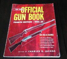 Official Gun Book Fourth Edition 1953-54