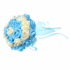 Wedding Flowers Bouquet Package for Bride Bridesmaid Posy Flowergirls Artificial