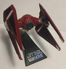 STAR WARS Titanium Series Red Tie Interceptor