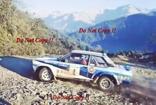 MARKKU ALEN FIAT 131 ABARTH RALLY ARGENTINA 1980 foto 1