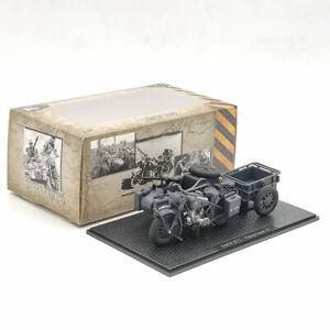1:24 BMW R75 Panzerfaust 30 Motorcycle World War II Deep Gray Diecast Models