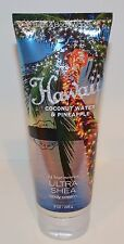 BATH & BODY WORKS HAWAII COCONUT WATER PINEAPPLE ULTRA SHEA BODY CREAM LOTION