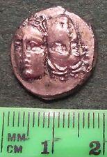 ANCIENT GREEK COIN THRACE ISTRUS SILVER AR DRACHM 400-350 B,C,