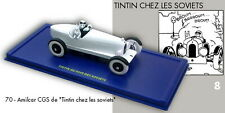 Car Tintin Atlas N°70 L'Amilcar IN The Land Of Soviets + Box Certificate