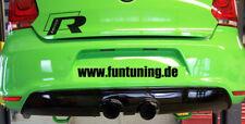 VW POLO 6R HECKSCHÜRZE Stoßstange DIFFUSOR  5 V GTI HECKANSATZ 6 R R32 20 WRC