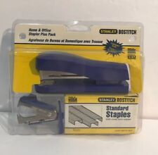 Stapler Stanley Bostitch Pack Vintage New Office Supplies Staples Remover 60604