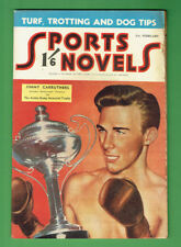 #RR.  SPORTS NOVELS  MAGAZINE - FEBRUARY 1952,  BOXING JIMMY CARRUTHERS COVER