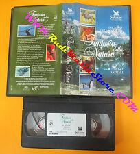 VHS film INCANTO DELLA NATURA IN MUSICA Fantasia della natura READER(F118)no*dvd