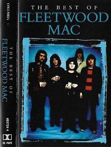 Fleetwood Mac The Best Of Fleetwood Mac CASSETTE ALBUM Columbia Blues Rock