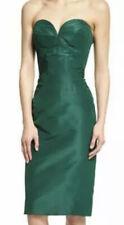 Zac Posen Forest Green Strapless Sweetheart-Neck Cocktail Dress Size 8 83636