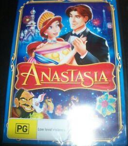 Anastasia (Kids Animated) (Australia Region 4) DVD – New