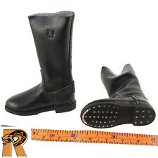 German Motorcycle Rider - Jack Boots (for Feet) - 1/6 Scale - Toys City Figures