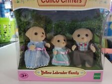 Calico Critters Yellow Labrador family  Condition is New