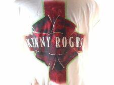 Vintage Kenny Rogers Concert T-Shirt Large L White The Gift Christmas Country