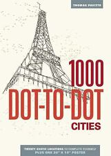 1000 Dot-To-Dot: Cities by Thomas Pavitte