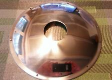 Norton Rear Wheel Hub Cover, Polished, New, 06-2082, Made in UK, Includes Screws