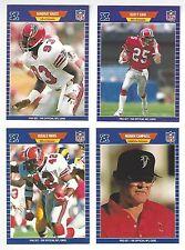1989 Pro Set Football - Lot of 100 Commons and Semi Stars - No Duplicates