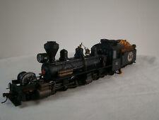 Bachmann On30 Logging Steam Locomotive -custom weathered, detailed - DCC & Sound