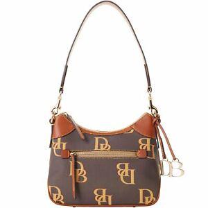 Dooney & Bourke Monogram Small Hobo Shoulder Bag