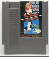 Super Mario Bros / Duck Hunt - Authentic Nintendo NES Game