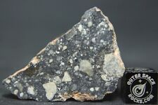 NWA 11266 Lunar Feldspathic Regolith Breccia Meteorite 11.8 grams from the Moon