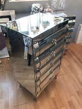 Glass Over 70cm Height Bedside Tables & Cabinets