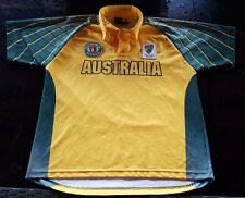 ADIDAS Cricket Australia PLAYERS JERSEY Short Sleeve GRAEME WOOD #1 of 4 small