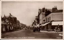 Fareham. West Street from East Street # G 8562 by Valentine's.
