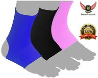 BooM Pro Ankle Foot Support Anklet Pads MMA Brace Guard Kick Boxing Muay Thai