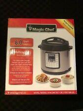 Magic Chef 6 qt. Digital Multi-Function Pressure Cooker - Brand New Black/Silver