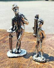 More details for silver plate figure. chimney sweeps. highly detailed figures