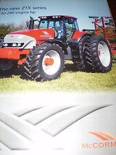 McCormick Tractors Sales Brochures 6 items