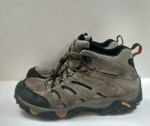 Merrell - Moab Ventilator Mid Walnut Brown Hiking Boots Men's 9.5 Wide  J86593W