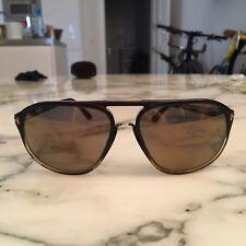 Tom Ford Jacob TF 447 05C 60•15 140 •3 Sonnenbrille braun honig verspiegelt
