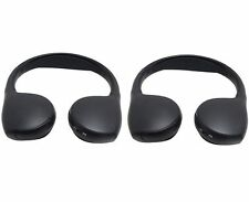 GM OEM folding headphones for DVD rear seat video entertainment system Two (2)